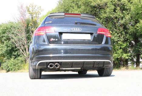 Fox Auspuff Sportauspuff Komplettanlage Audi RS3 8P quattro Sportback 2, 5l 250kW