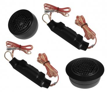 ESX SXE-6.2T Hochtöner Lautsprecher Set 25mm Tweeter Frequenzweiche Weichen Paar