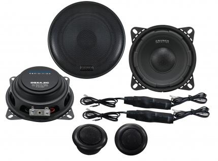 CRUNCH DEFINITION KOMPO 10cm DSX4.2C Autolautsprecher Lautsprecher Auto Boxen