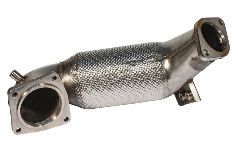 Friedrich Motorsport 70mm Downpipe HJS Sport Kat Hyundai i30 PDE ab Bj. 11/2017
