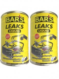 2x Dr. Wack BARS Leaks Liquid Kühlerdichtung Kühlerdichtmittel 150g