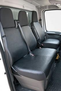 Fiat Ducato - Bj. 07/06 - heute Schonbezug Sitzbezug Sitzbezüge