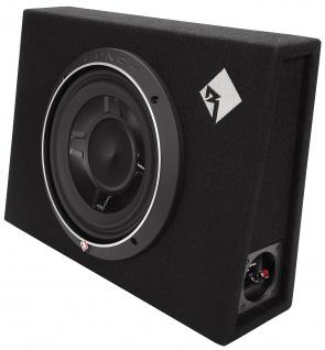 ROCKFORD FOSGATE PUNCH Subbox P3S-1X10 25cm Subwoofer Bassbox 300 WRMS 4 Ohm