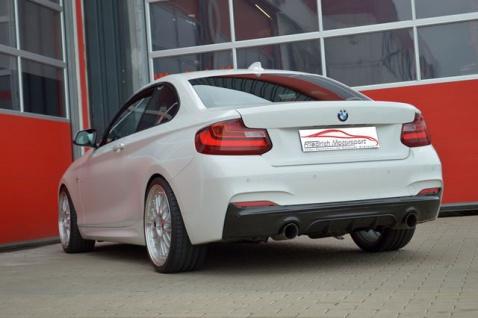 Friedrich Motorsport 76mm Duplex Sportauspuff Auspuff Anlage BMW 2er F22/F23