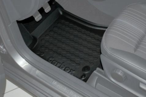 Carbox FLOOR Fußraumschale Gummimatte Fußmatte Mercedes B-Klasse vorne links