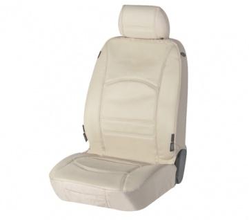 Sitzbezug Sitzbezüge Ranger aus echtem Leder beige SMART ForFour