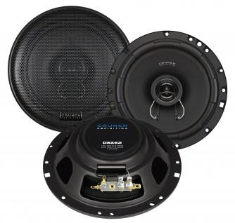 CRUNCH DEFINITION KOAX 16, 5cm DSX62 Lautsprecher Auto Boxen Set 200 Watt PKW KFZ