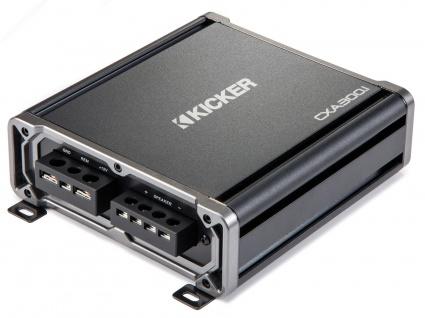 KICKER ClassD Amplifier CXA3001, 1-Kanal Verstärker 1 x 300WRMS an 2 Ohm digital