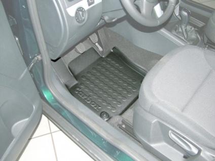 Carbox FLOOR Fußraumschale Gummimatte Fußmatte Skoda Yeti vorne links