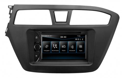 """ESX Naviceiver VN6314D Hyundai i20 GB, seit 2014 6, 2"""" Touchscreen TMC Modul"""