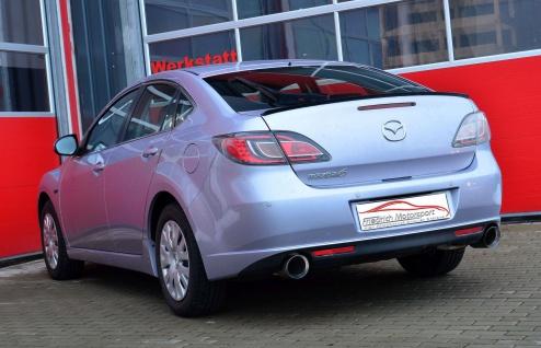 Friedrich Motorsport Gruppe A Sportauspuff Anlage Mazda 6 (GH) Limousine / Sport