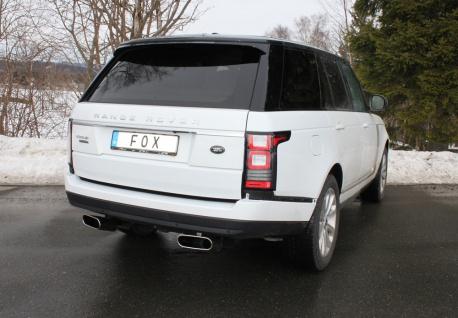 Fox Duplex Auspuff Sportauspuff Endschalldämpfer Land Rover Range Rover 4 4, 4l D - Vorschau 3