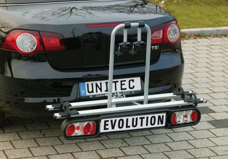 Heckfahrradträger Fahrradträger für Anhängerkupplung abklappbar 2|75351