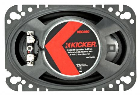 "Kicker 4x6"" Coax-ls Ksc46 2-wege Koax Lautsprecher Boxen Auto Kfz Pkw Paar - Vorschau 2"
