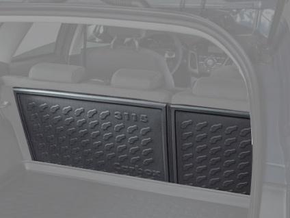 Carbox FORM Kofferraumwanne Zusatzteil Rückbank Renault Kadjar 08/15-