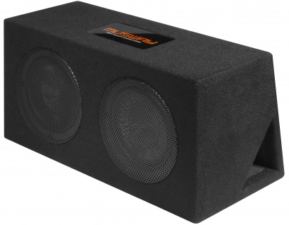 MUSWAY Dual Bassreflex-Gehäusesub MR-208Q Subwoofer Bassbox 800W