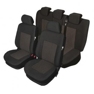Auto PKW Schonbezug Sitzbezug Sitzbezüge Fiat Idea