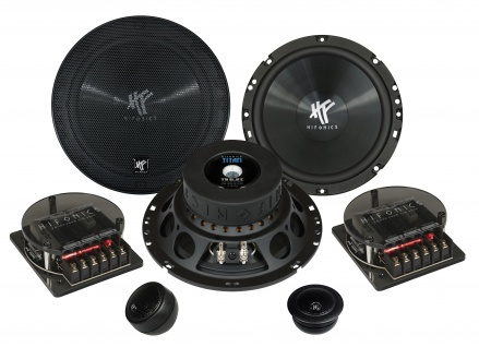 HIFONICS TITAN 2-Wege System 16, 5cm TS6.2C Autolautsprecher Lautsprecher Auto