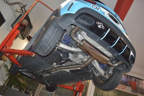 Friedrich Motorsport 90mm Auspuff Sportauspuff Mercedes X156 GLA-Klasse