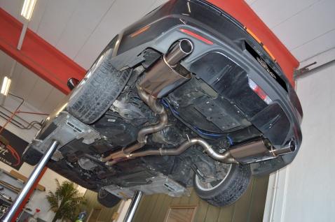 Streetbeast Sportauspuff 76mm Duplex-Anlage mit Klappensteuerung Mustang VI 5.0l