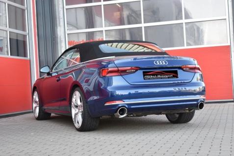 Friedrich Motorsport 76mm Duplex-Sportauspuff Audi A5 B9 F5/B8 Coupe und Cabrio