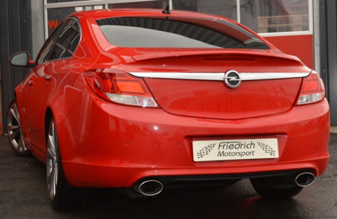 Friedrich Motorsport Gruppe A Duplex Auspuff Sportauspuff Anlage Opel Insignia