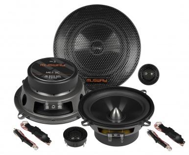 MUSWAY 2-Wege System ME-5.2C System Auto Car PKW Hifi Boxen Lautsprecher Paar