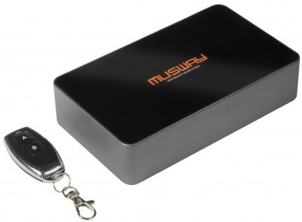 MUSWAY Demo Switchbox SW2 Umschaltbox SW2 mit M6 oder D8
