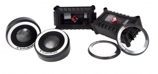 ROCKFORD FOSGATE POWER Tweeter Set T2T-S 25mm Hochtöner Set Auto Lautsprecher