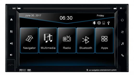 ESX Naviceiver VN630WS DVD CD Multimedia Auto Radio USB Bluetooth WMA
