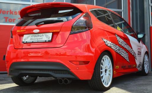 Friedrich Motorsport Auspuff Sportauspuff Sportendschalldämpfer Ford Fiesta Typ JA8