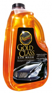 Meguiars Gold Class Shampoo Reiniger Pflege Autoshampoo G7164EU 1, 89l