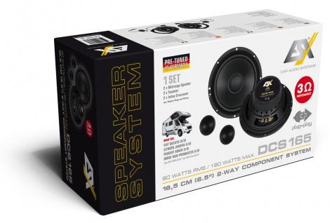 ESX Car Spezifisches Kompo-Kit 16, 5 cm DCS-165 Lautsprecher Set Paarpreis