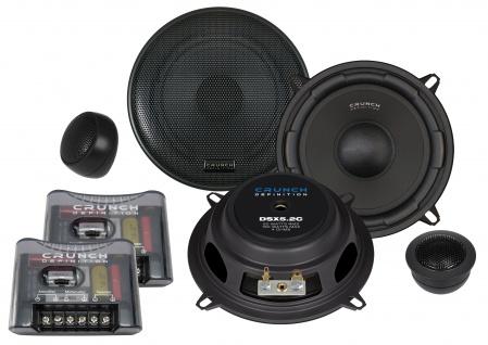 CRUNCH DEFINITION KOMPO 13cm DSX5.2C Autolautsprecher Lautsprecher Auto Boxen