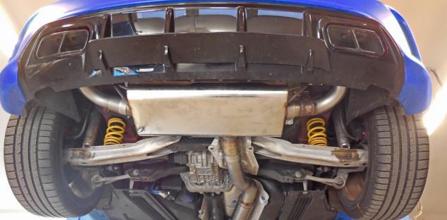 Fox Duplex Auspuff Sportauspuff Komplettanlage Mercedes A-Klasse/ Class A45 245 - Vorschau 1