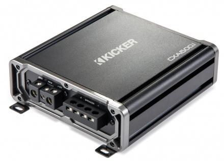 KICKER ClassD Amplifier CXA6001, 1-Kanal Verstärker 1 x 600WRMS an 2 Ohm digital