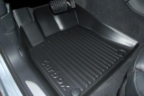 Carbox FLOOR Fußraumschale Gummimatte vorne links Porsche Macan 95B 04/14-