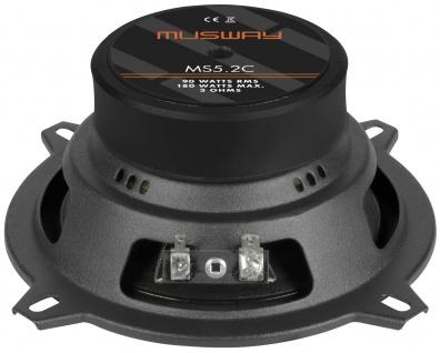 MUSWAY 2-Wege System MS-5.2C System Auto Car PKW Hifi Boxen Lautsprecher Paar - Vorschau 2