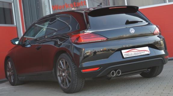 Friedrich Motorsport Gruppe A Auspuff Sportauspuff Anlage VW Scirocco III 2.0l