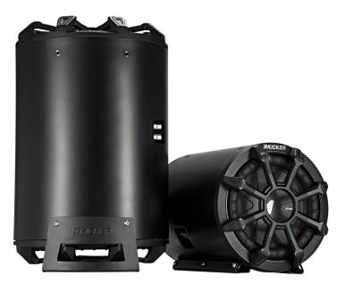 KICKER Bass-Tube CWTB102 Subwoofer Bassreflexbox 25 cm 800 Watt
