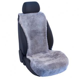 Lammfellbezug Auto Sitzbezug Sitzbezüge Lammfell silber Mini
