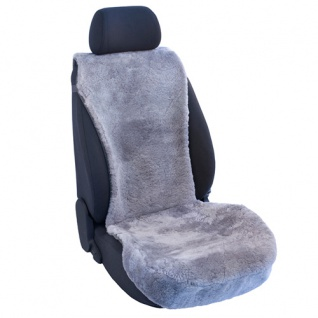 Lammfellbezug Auto Sitzbezug Sitzbezüge Lammfell silber Suzuki
