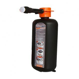 Terra S Nachfüllflasche 450ml für Reifenpannenset Reifen Pannenset 1-2-GO KIT