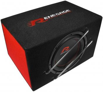 RENEGADE 25cm Bassreflex-Subwoofer Aktiv 400 Watt Bassbox Basskiste RXV1000A