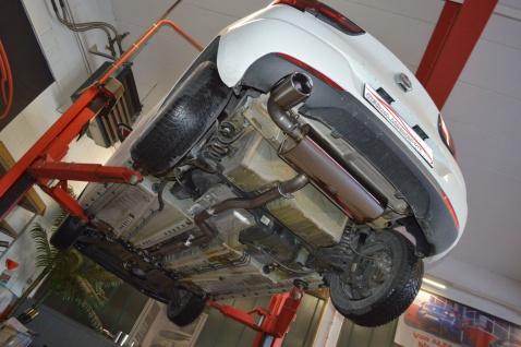 Friedrich Motorsport Gruppe A Sportauspuff Auspuff Anlage Opel Astra K 5-Türer