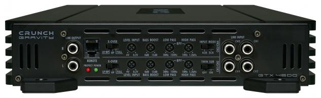 Crunch Gravity 4-kanäle Verstärker Endstufe Auto Pkw Kfz Gtx-4600 - Vorschau 3