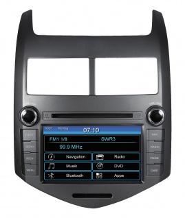ESX Naviceiver VN710-CV-AVEO Chevrolet Aveo T300 ab 2011 DVD Bluetooth Navi