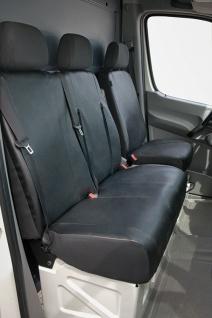Schonbezug Sitzbezug Sitzbezüge Mercedes Sprinter - Bj. 05/06 - heute - Vorschau