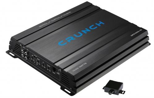 CRUNCH Monoblock Endstufe Verstärker Digital GROUNDPOUNDER GPX1000.1D 500 Watt