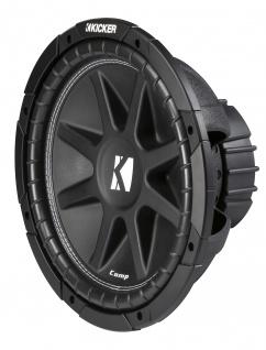 "KICKER 12"" Comp Subwoofer 43 C124 30cm Auto Hifi Subwoofer Bassbox 500 W MAX"